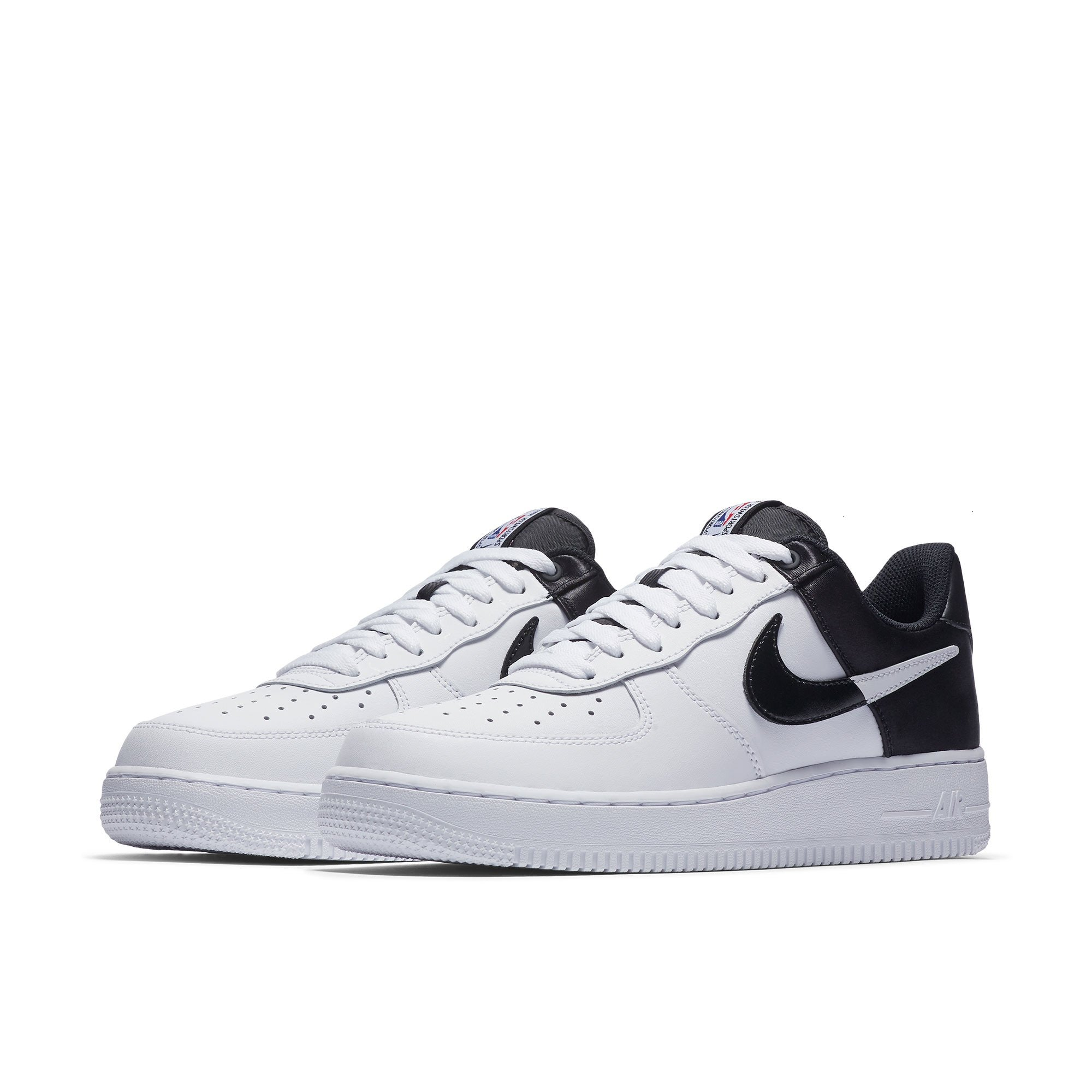 Original Authentic Nike AIR FOR  Skateboard Shoes Outdoor Black white Fashion  Breathable